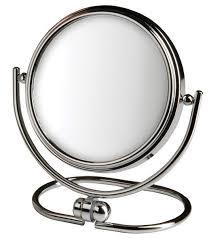 shaver 10x folding travel mirror