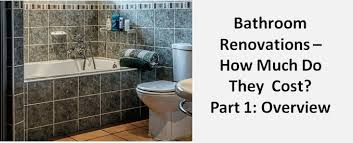 bathroom renovations how much do they
