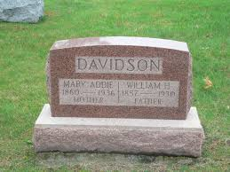 Mary Addie Judy Davidson (1860-1936) - Find A Grave Memorial