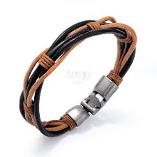 bracelet of thin synthetic leather