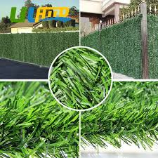 Uland 1pcs 1m 3m Plastic Garden Fence Artificial Hedge Fencing Privacy Fence Screen Artificial Grass Carpets Mats Balcony Cover Artificial Hedge Fencing Artificial Hedgebalcony Cover Aliexpress