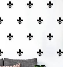 26 Pcs Floral Fleur De Lis Vinyl Decal Wall Sticker French Style Art Pattern Wall Sticker For Furniture Cabinet Fridge Wish