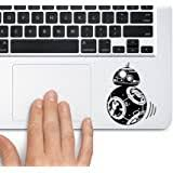 Amazon Com Star Wars Bb8 White 4 Vinyl Decal Sticker For Car Automobile Window Wall Laptop Notebook Etc Any Smooth Surface Such As Windows Bumpers Computers Accessories