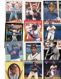 Amazon.com: Terry Pendleton Collectors Baseball Card Lot w/Rookie  Card-Atlanta Braves: Collectibles & Fine Art