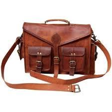vintage leather bag indian vintage