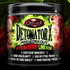 detonatorx xcel sport preworkout