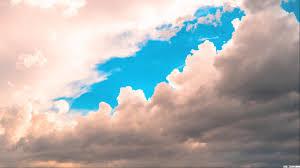 الغيوم في السماء تنزيل خلفية Hd