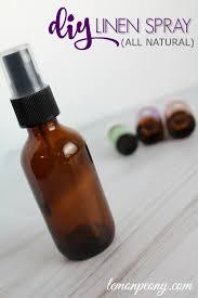 all natural diy linen spray