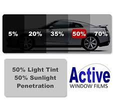 ultra light black car window auto tint