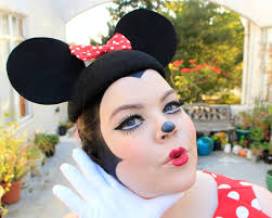 best minnie mouse costume makeup for