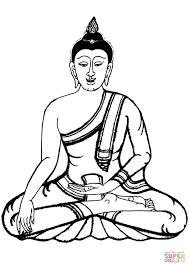 Buddha Kleurplaat Gratis Kleurplaten Printen