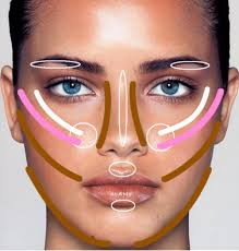 contour lines makeup 2020 ideas