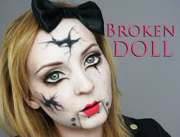 ventriloquist doll makeup for