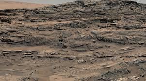 rocks on mars basalt shale sandstone