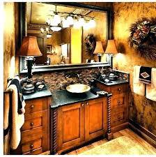 tuscan bathroom vanity cabinets