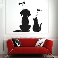 Pet Dreams Wall Decal For Living Room Dog Cat Wall Tattoo For Kids Room Vinyl Wall Sticker Decoration Store Creative Vinyl Tree Wall Decals Vinyl Wall From Joystickers 14 38 Dhgate Com