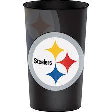 Nfl Pittsburgh Steelers Souvenir Cups 8 Count Walmart Com Walmart Com