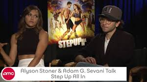 Alyson Stoner and Adam G. Sevani Chat STEP UP ALL IN with AMC ...