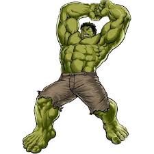 The Hulk Angry Marvel Super Heroes Colored Cartoon Character Wall Art Sticker Vinyl Decals Girls Boys Children Baby Bedroom House School Wall Decor Removable Sticker Peel And Stick Size 20x10 Inch