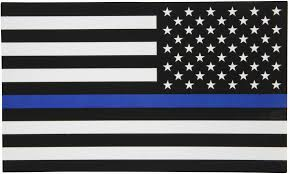 thin blue line flag wallpapers