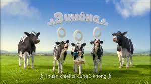 BÒ SỮA NGOAN QUẢNG CÁO VINAMILK- BÚN CƯNG - YouTube
