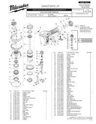 milwaukee 7120 21 a87a parts coil