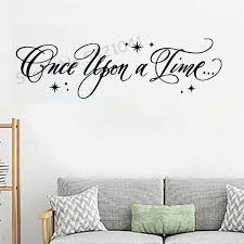 Creative Once Upon A Time Wall Sticker Removable Self Adhesive Watercolo Living Room Children Room Decoration Wall Decal Vinyl Wall Sayings Vinyl Wall Sticker From Onlinegame 8 96 Dhgate Com