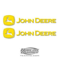 John Deere Car And Truck Decals And Stickers For Sale Ebay