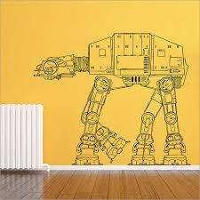 Star Wars At At Walker Vinyl Wall Art Decal