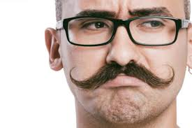 grow and style a handlebar mustache