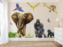 Jungle Wall Decals Wall Murals Room Sets Inspiremurals Com