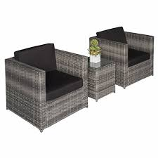 outdoor alyce 2 seater rattan sofa set