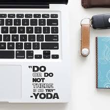 Master Yoda Motivation Quote Decal Laptop Trackpad Sticker For Macbook Sticker Pro Air Retina 11 12 13 15 Inch Mac Touchpad Skin Stickers For Macbook Trackpad Stickerdecal Laptop Aliexpress