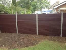 Composite Plastic Fencing Panels Bristol Lennon Son