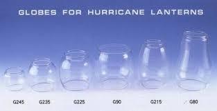hurricane lantern glass globe padia