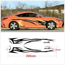 Car Styling Dream R Flame Graphics Design Accessories Car Body Decor Cover Decal Car Sticker Design Bike Tank Car Stripes