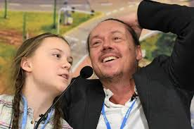 Greta Thunberg's dad worries about 'all the hate' aimed at her