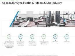 gym health and fitness clubs industry
