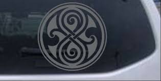 Auto Parts And Vehicles Doctor Who Time Lord Symbol Seal Of Gallifrey Car Truck Window Decal 4x4 Other Car Truck Decals Stickers Cctvshoponline In