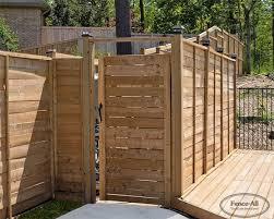 Wood Driveway Gate Wood Gates Products Fence All Ottawa