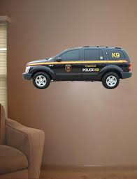 Police K9 Unit Wall Decal Cutout