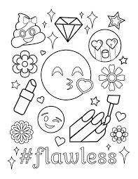 Mewarna 05 Emoji Poep Kleurplaat