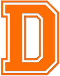 Amazon Com Applicable Pun Varsity Letter D Vinyl Decal For Outdoor Use On Cars Atv Boats Windows And More Orange 3 Inches Tall Automotive