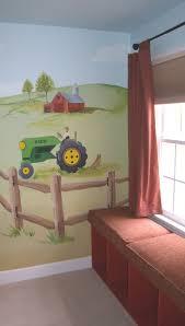 Horse Mural Professional Mural Artists Farm Mural Kids Room Murals Farm Room
