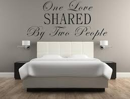 One Love Shared By Two People Vinyl Wall Decal Romantic Sayings Wall Inspirational Wall Signs
