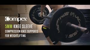 pex bracing 5mm knee sleeve ft
