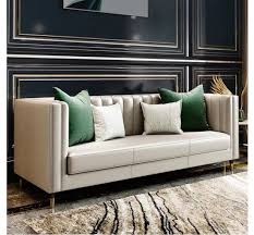 european style furniture leather sofa