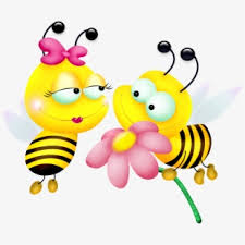 Bee Clipart Positive - Clipart Transparent Background Bee ...