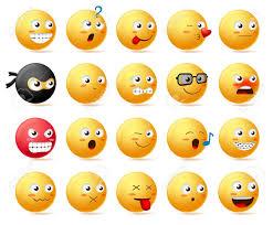 smileys emoji faces vector character