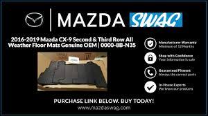 2016 2019 mazda cx 9 second third row